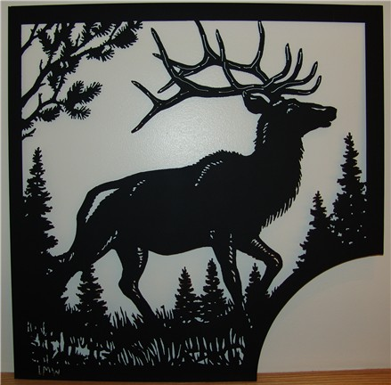 silhouette art gifts